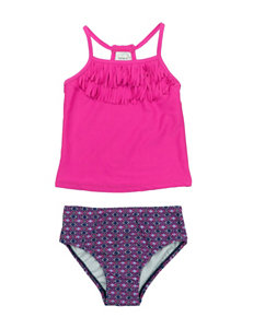 Carter's Pink / Navy Swimsuit Sets Tankini