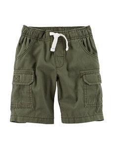 Carter's Canvas Cargo Shorts - Toddler Boys