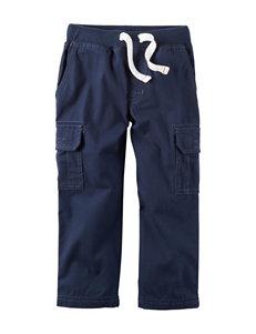 Carter's Navy Canvas Cargo Pants - Boys 5-8