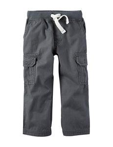 Carter's Grey Cargo Canvas Pants - Toddler Boys
