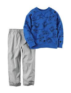 Carter's 2-pc. Dinosaur Print Top & Pants Set - Toddler Boys