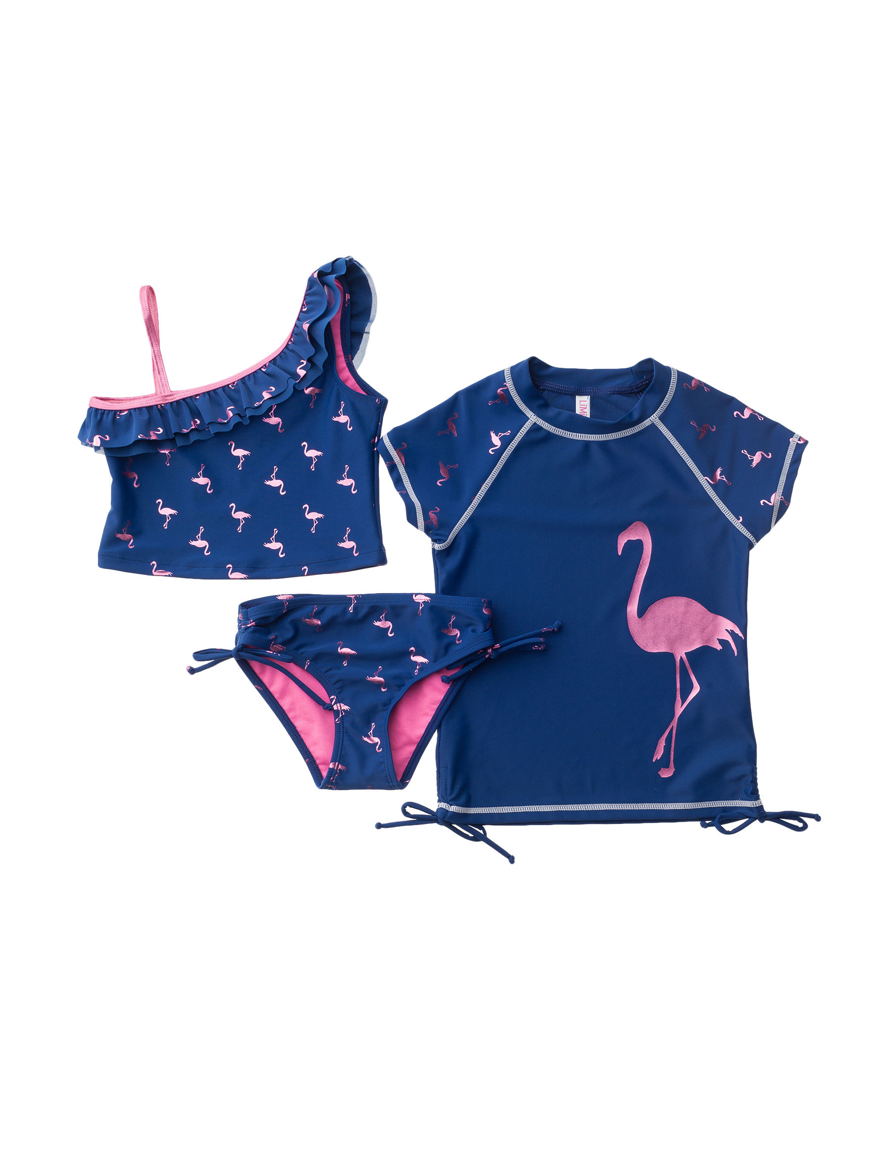 Limited Too Navy Swimsuit Sets Tankini