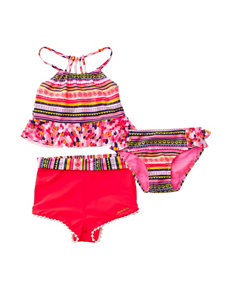 Limited Too Coral Swimsuit Sets Tankini