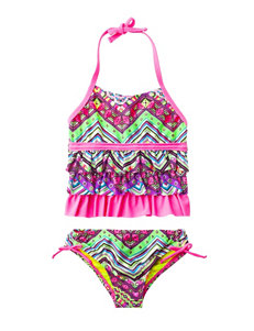 Laguna Pink Swimsuit Sets Tankini