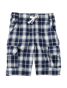 Carter's Plaid Canvas Cargo Shorts - Boys 5-8