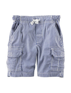 Carter's Striped Canvas Cargo Shorts - Boys 5-8