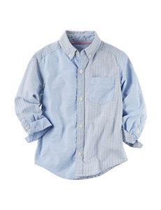 Carter's Oxford Color Block Woven Shirt - Boys 5-8