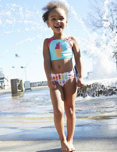 Sole Swim 3-pc. Ice Cream Mix & Match Swim Set - Toddler Girls