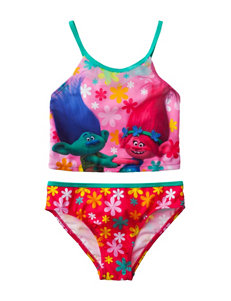 Licensed Pink Swimsuit Sets Tankini