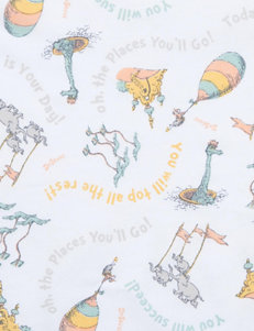 Trend Lab Dr. Seuss Oh, The Places You'll Go! Fitted Crib Sheet