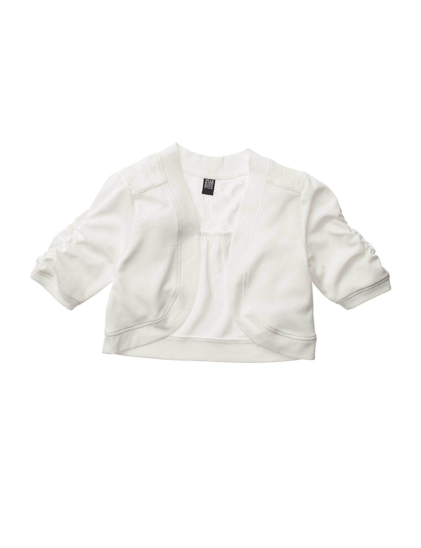 Star Ride Ivory Shrugs Sweaters