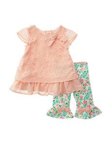 Nannette 2-pc. Chiffon Capri Pants Set - Baby 12-24 Mos.