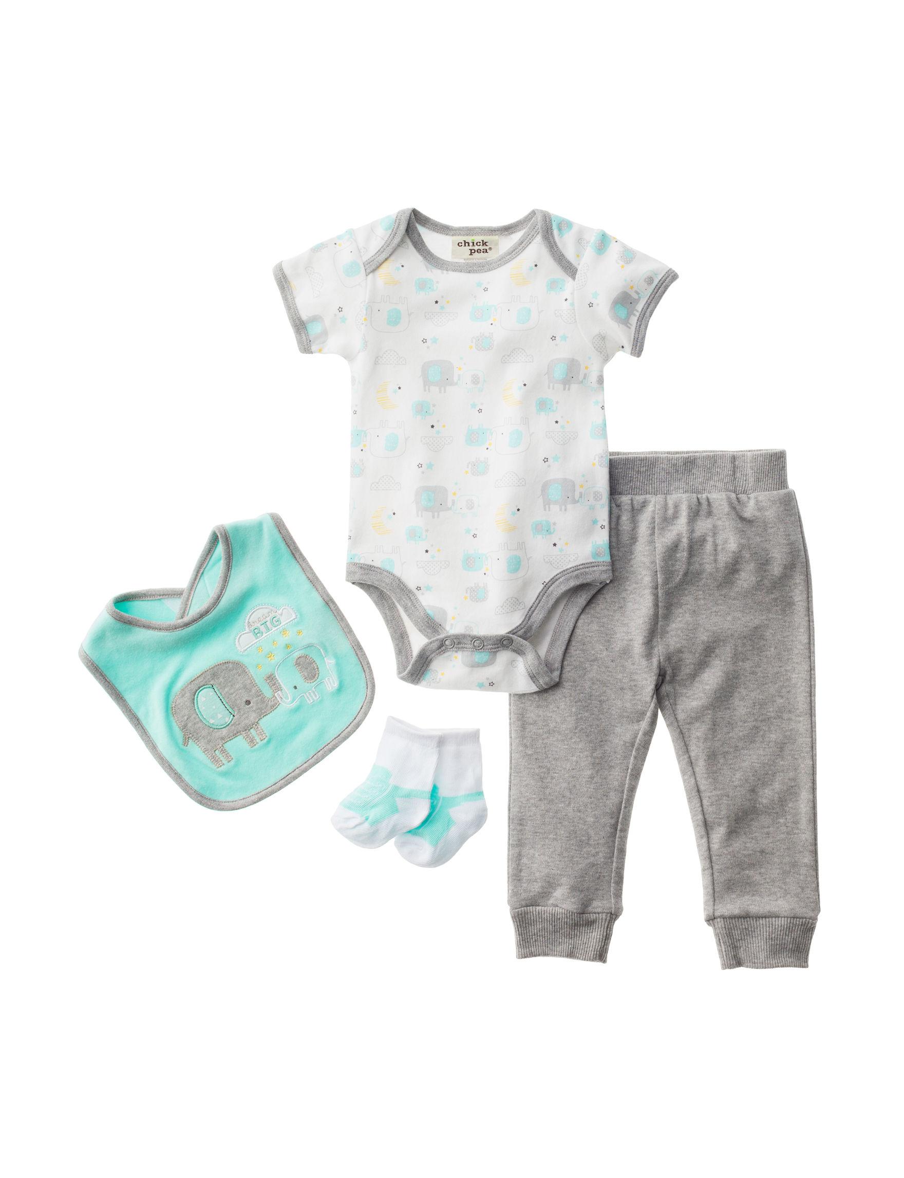 Baby Gear Heather Grey
