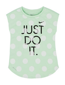Nike Polka Dot Dri-Fit Top - Toddler Girls
