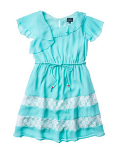Lilt Ruffle Shoulder Dress - Girls 7-16