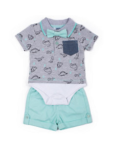 Boys Rock Heather Grey