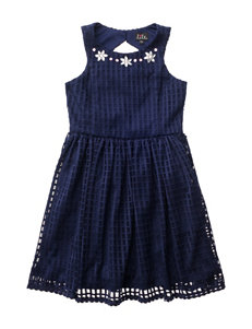 Lilt Mesh Jeweled Dress - Girls 7-16