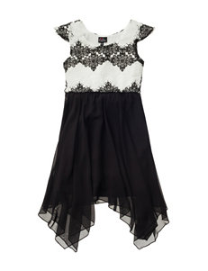 Lilt Lace Bow Back Dress - Girls 7-16
