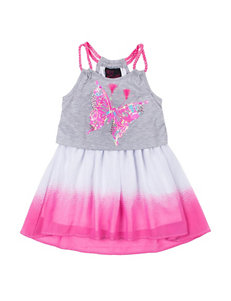 Little Lass Grey / Pink