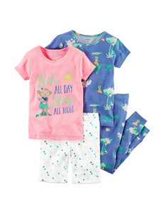 Carter's 4-pc. Hula All Day Pajama Set - Baby 12-24 Mos.