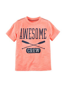 Carter's Orange Tees & Tanks
