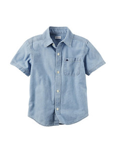 Carter's Denim Casual Button Down Shirts