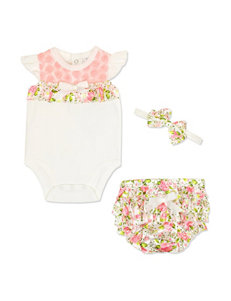 Baby Essentials Coral / Ivory