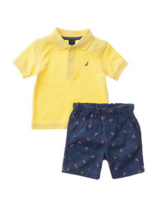 Nautica 2-pc. Polo Shirt & Shorts Set - Baby 12-24 Mos.