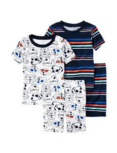 Carter's 4-pc. Dog Pajama Set - Toddler Boys