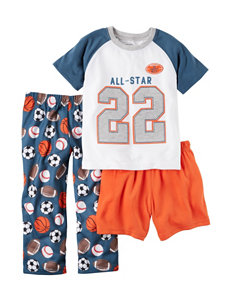 Carter's 3-pc. All-Star Top & Bottoms Pajamas Set - Toddler Boys