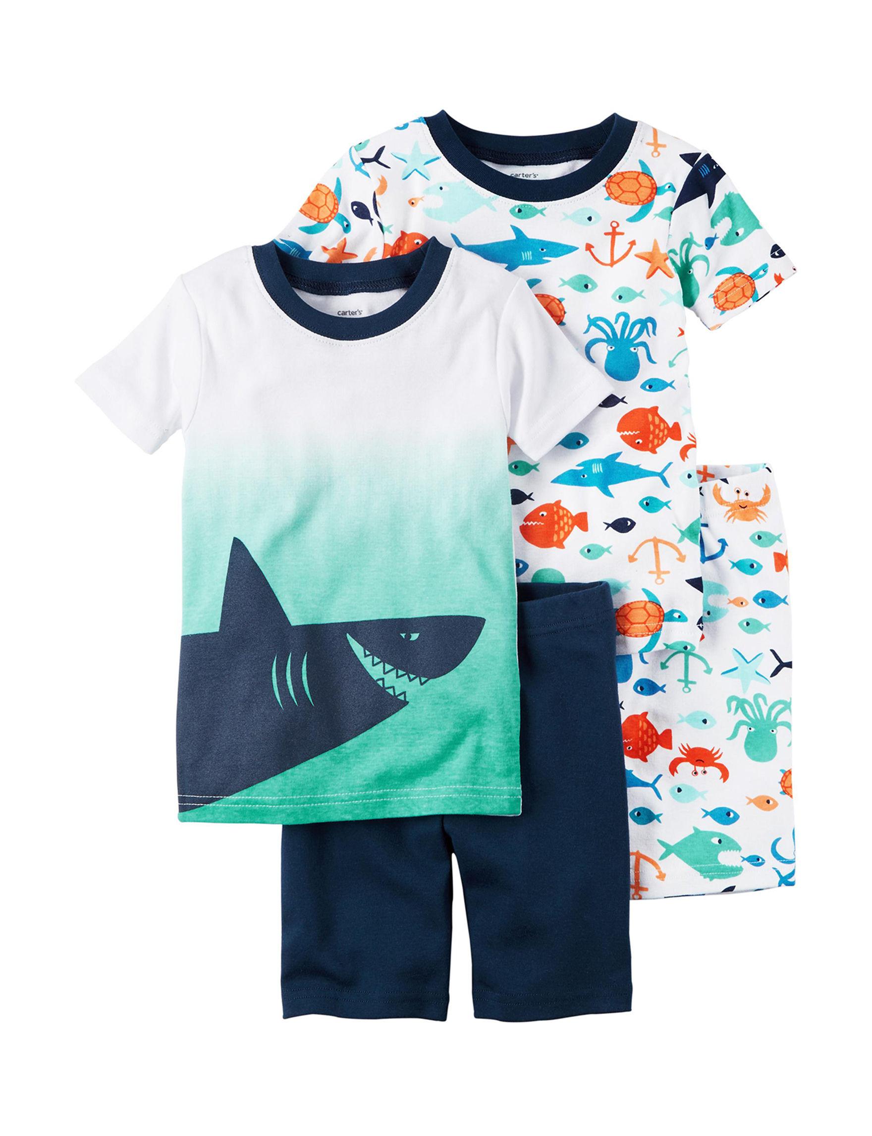carter s 4 pc shark pajamas set toddler boys stores shark pajamas set toddler boys