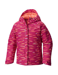 Columbia Pink Multi Fleece & Soft Shell Jackets