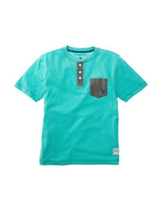 U.S. Polo Assn. Henley Contrast Pocket T-shirt - Boys 8-20