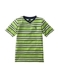 U.S. Polo Assn. V-Neck T-shirt - Boys 8-20