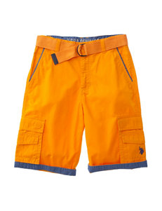 U.S. Polo Assn. Orange Relaxed