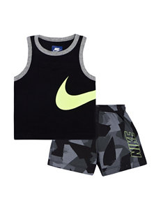 Nike 2-pc. Muscle Tank & Shorts Set - Baby 12-24 Mos.
