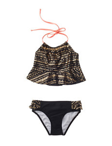 Limited Too Black One-piece Swimsuits