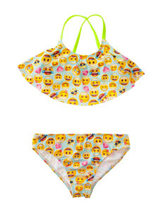St. Tropez 2-pc. Flounce Bikini Swimsuit Set - Girls 7-16