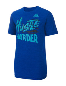 adidas Hustle Harder T-shirt - Toddlers & Boys 4-7x