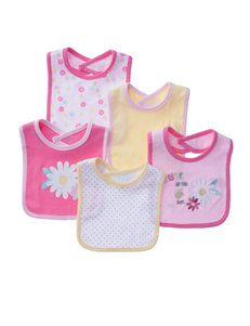 Baby Gear Pink Bibs & Burp Cloths