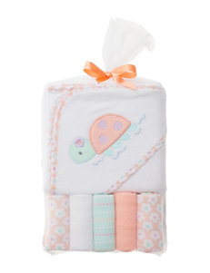 Baby Gear Coral Hooded Towels