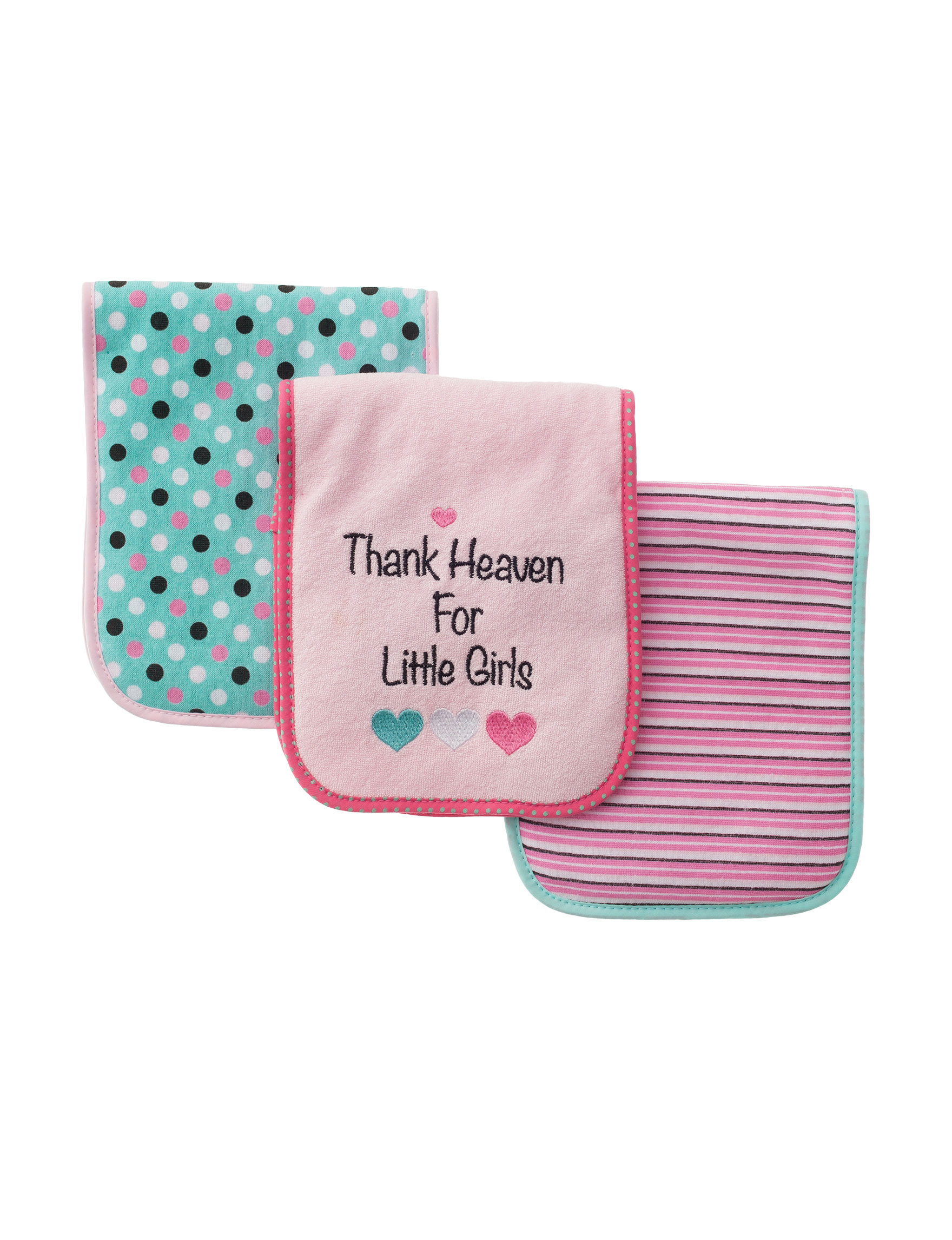 Baby Gear Coral Bibs & Burp Cloths