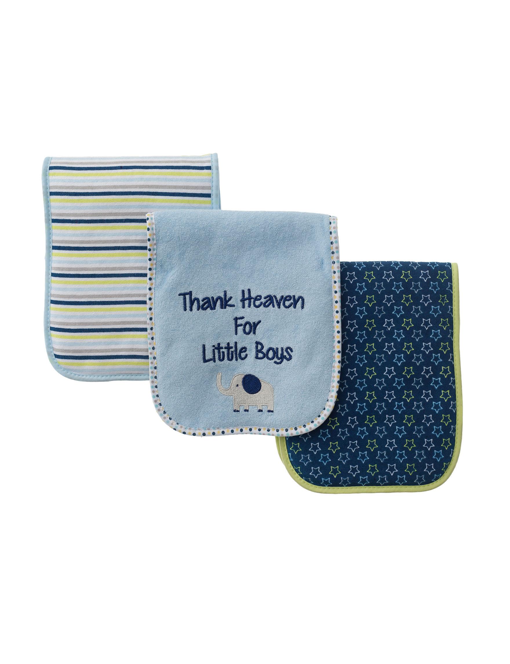 Baby Gear Light Blue Bibs & Burp Cloths