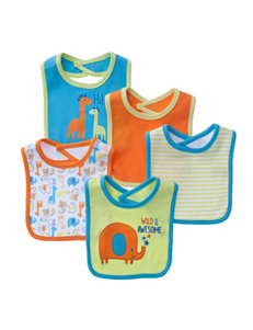 Baby Gear Lime Bibs & Burp Cloths