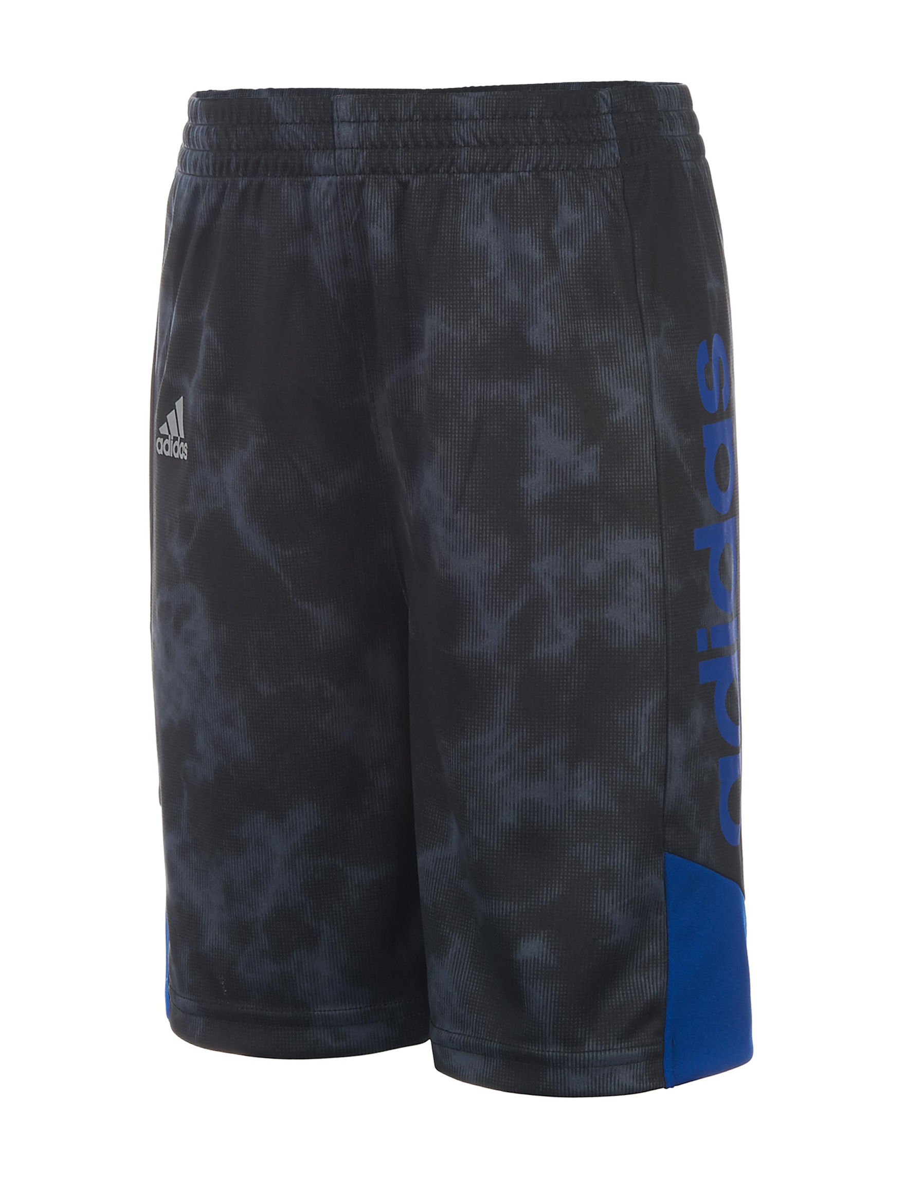 Adidas Black / Blue Stretch