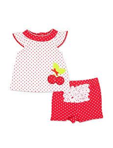 Baby Essentials Red / White