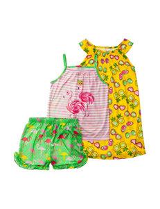 Komar Yellow Pajama Sets