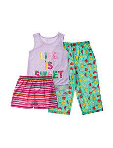Komar Green Pajama Sets