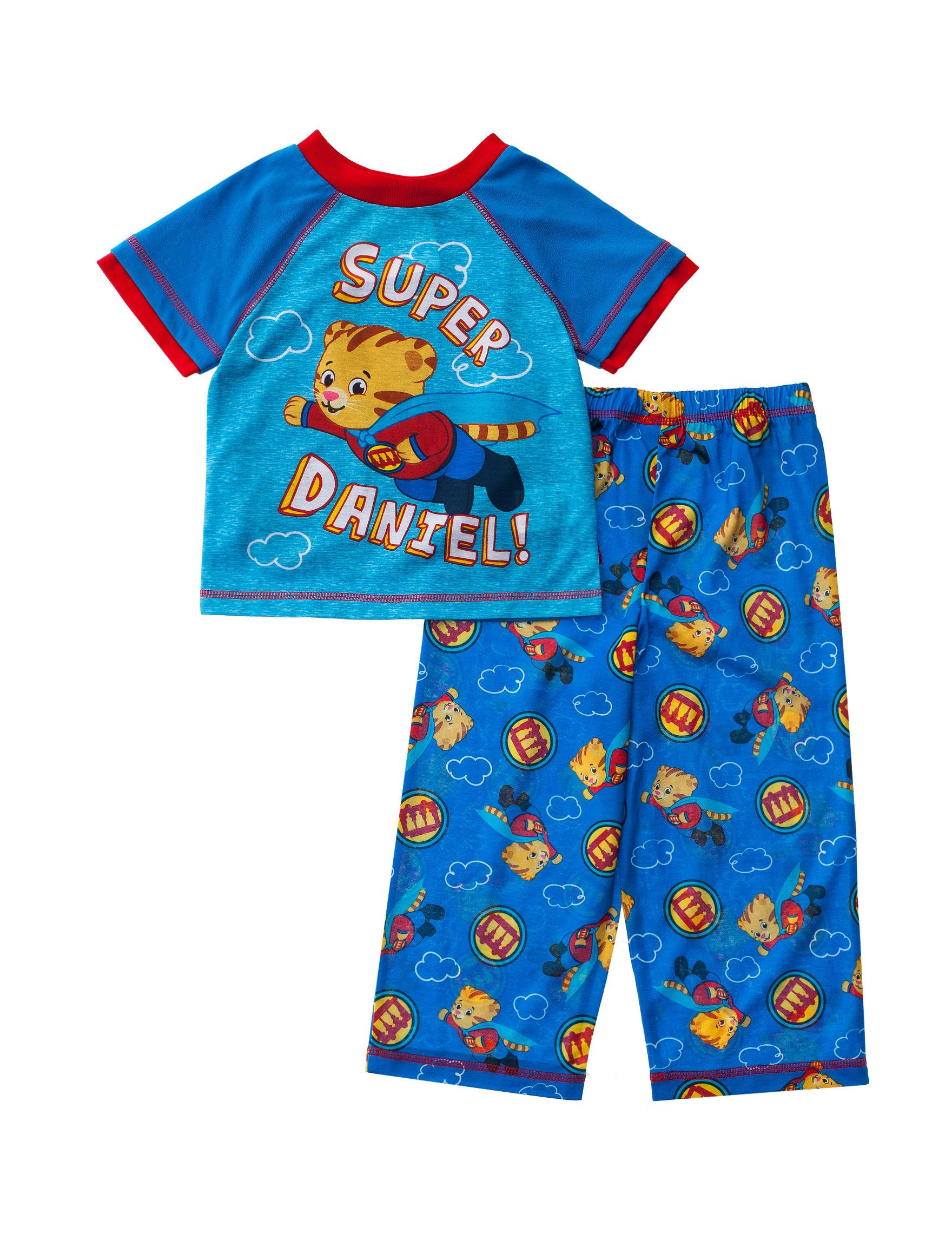 Licensed Blue Pajama Sets