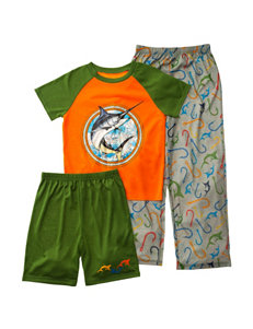 Komar Green Pajama Sets